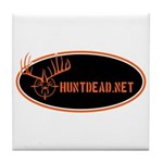 Huntdead.net Tile Coaster