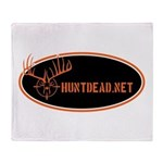 Huntdead.net Throw Blanket