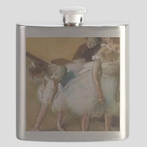 Vintage Ballet by Edgar Degas Flask
