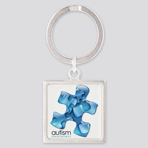 PuzzlesPuzzle (Blue) Keychains