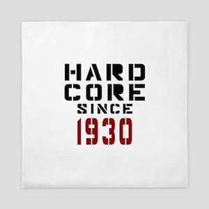 Hard Core Since 1930 Queen Duvet
