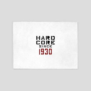 Hard Core Since 1930 5'x7'Area Rug