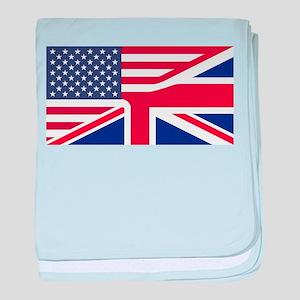 United Jack baby blanket