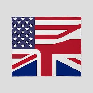 United Jack Throw Blanket