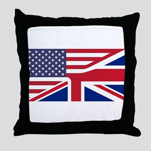 United Jack Throw Pillow