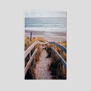 Walk To The Beach Area Rug