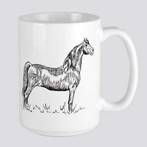 Morgan Horse In Pen & Ink Large Large Mug