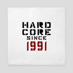 Hard Core Since 1991 Queen Duvet