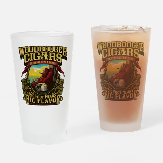 Woodbooger Cigars Drinking Glass