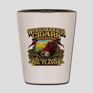 Woodbooger Cigars Shot Glass