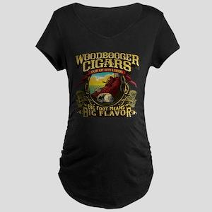 Woodbooger Cigars Maternity T-Shirt