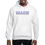 Blue and Proud: Washington Hooded Sweatshirt