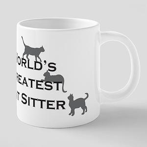 World's Greatest Cat Sitter Stainless Steel Travel