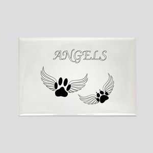 Angel Pet Paws Magnets