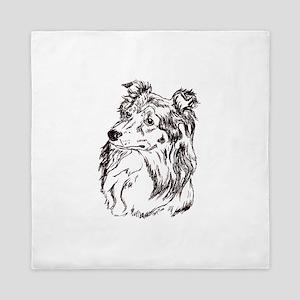 Shetland Sheepdog Queen Duvet