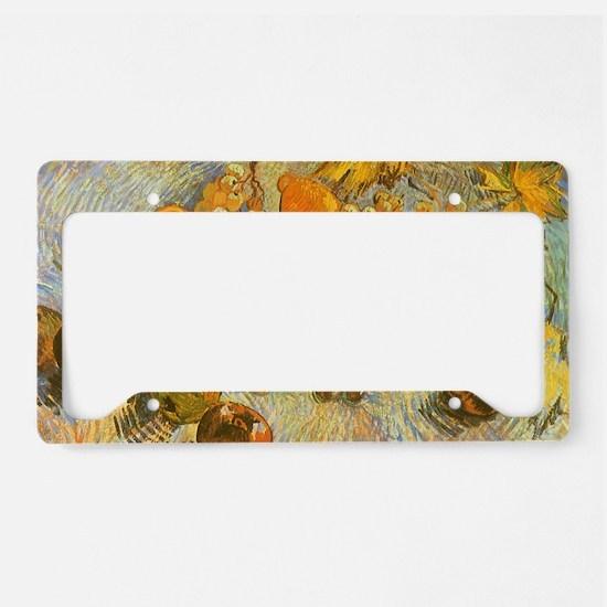 Van Gogh Still Life License Plate Holder