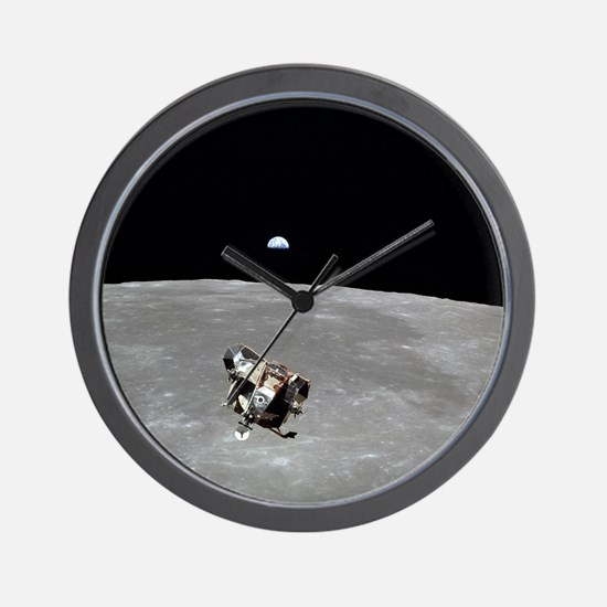 Unique Moon landing Wall Clock