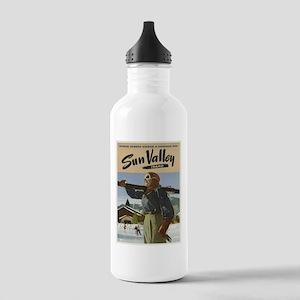 Vintage poster - Sun V Stainless Water Bottle 1.0L