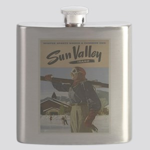 Vintage poster - Sun Valley Flask