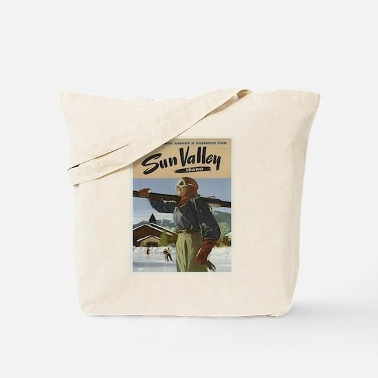 Vintage poster - Sun Valley Tote Bag