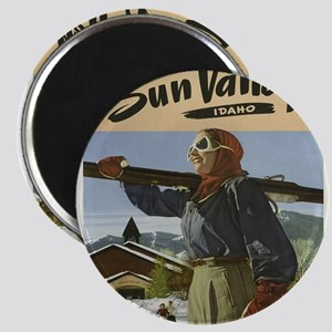 Vintage poster - Sun Valley Magnets