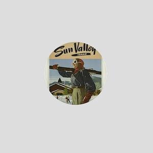 Vintage poster - Sun Valley Mini Button
