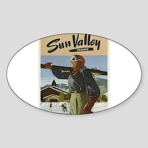 Vintage poster - Sun Valley Sticker