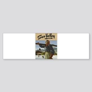 Vintage poster - Sun Valley Bumper Sticker