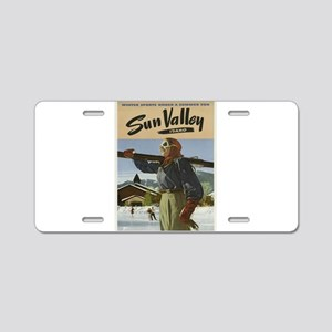 Vintage poster - Sun Valley Aluminum License Plate