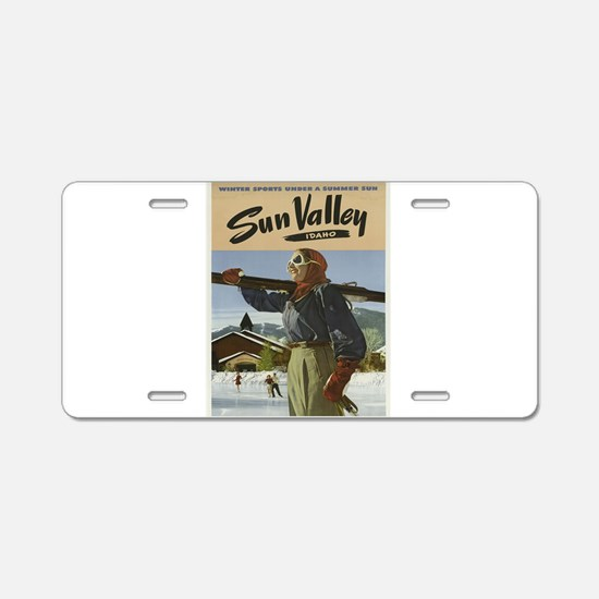 Vintage poster - Sun Valley Aluminum License Plate