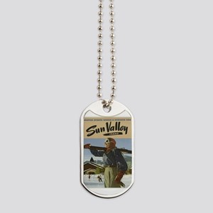 Vintage poster - Sun Valley Dog Tags