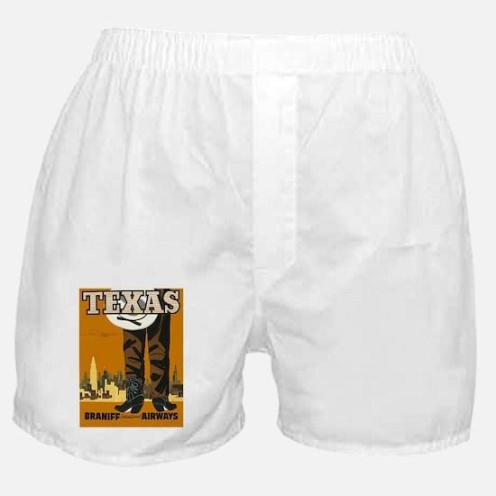 Vintage poster - Texas Boxer Shorts