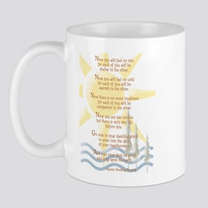 Apache Wedding Blessing Mug
