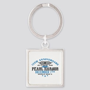 75th Anniversary attack on Pearl Harbor Keychains