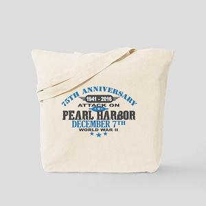 75th Anniversary attack on Pearl Harbor Tote Bag