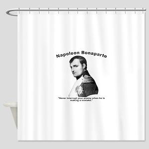 Napoleon Mistake Shower Curtain