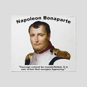 Napoleon Courage Throw Blanket