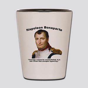 Napoleon Courage Shot Glass