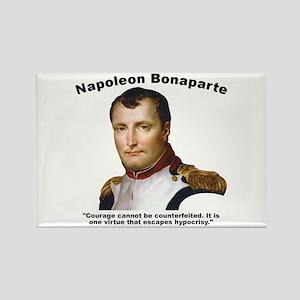 Napoleon Courage Rectangle Magnet