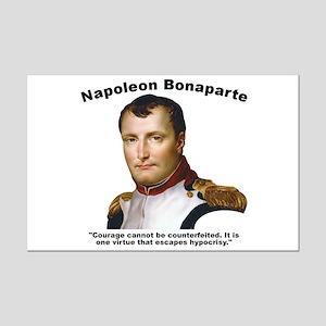 Napoleon Courage Mini Poster Print