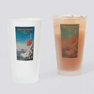 Glacier des Diablerets, Switzerland Drinking Glass