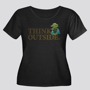 Think Outside Plus Size T-Shirt