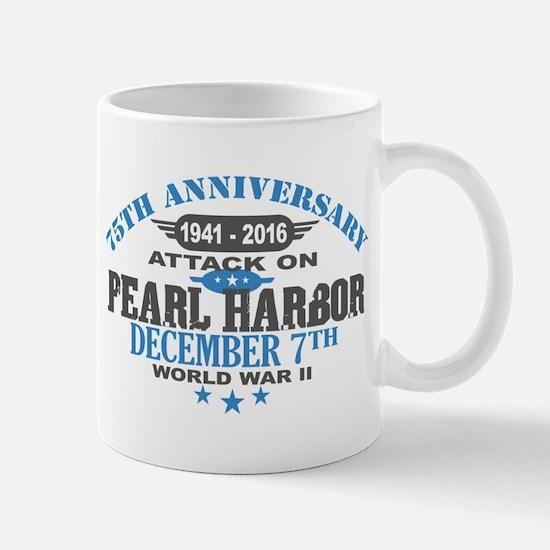 75th Anniversary attack on Pearl Harbor Mugs