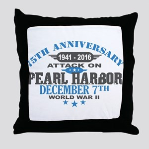 75th Anniversary attack on Pearl Harbor Throw Pill