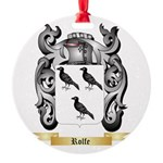 Rolfe Round Ornament