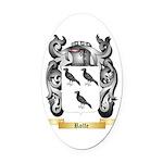 Rolfe Oval Car Magnet