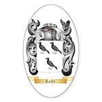 Rolfe Sticker (Oval 50 pk)