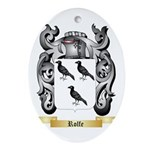 Rolfe Oval Ornament