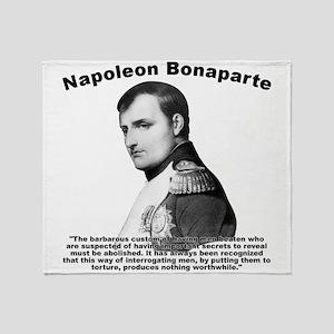 Napoleon Torture Throw Blanket