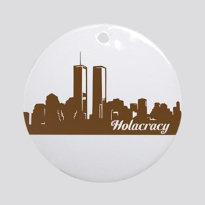 Holacracy Round Ornament